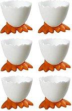 Egg Cups, 6 PCS Novelty Easter Egg Holder Stand