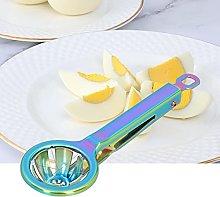Egg Cutter, 304 Stainless Steel Egg Splitter,