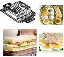 Egg Cutter, Stainless Steel Egg Cutter,