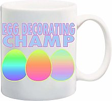 Egg Decorating Champ Mug Cup - 11 Ounces