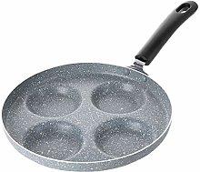 Egg Frying Pan, 3/4 Hole Aluminium Alloy Egg