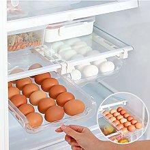 Egg Holder for Refrigerator, 21 Deviled Plastic