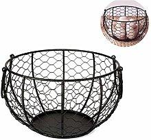 Egg holder, metal egg basket for approx. 36 eggs