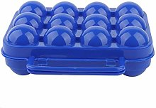 Egg Holder with Dust Proof, Double Side Plastic