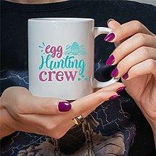 Egg Hunting Crew 11oz Coffee Mug Cup Hunting