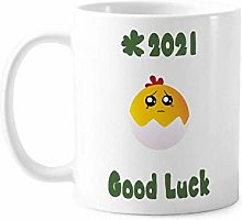 Egg Injustice Lovely Face Cartoon Good Luck 2021