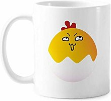 Egg Insidious Lovely Face Cartoon Mug Pottery