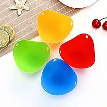 Egg Poacher Cups (4 Pack) for Perfect Poached Eggs