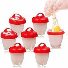Egg Poacher Cups , Silicone Egg Poacher With Base