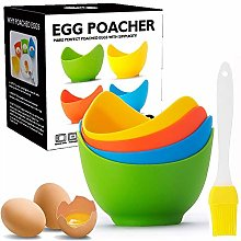 Egg Poacher - Poached Egg Cooker with Ring
