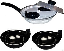 Egg Poacher Two Cup Four Cup Replacement Cups Pan