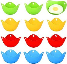 Egg Poaching Cups Colorful Extra Thick Silicone