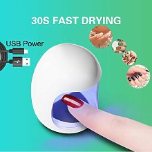 Egg Shape 3W UV LED Lamp for Nail Single Finger