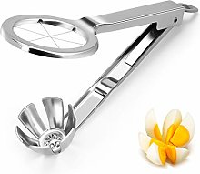 Egg Slicer Cutter, Welltop Stainless Steel Boiled