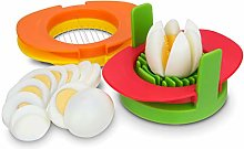 Egg Slicer Set with 3 Cutters - 3 in 1 Stainless