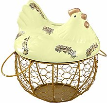Egg Storage Basket, Foldable Large Capacity Egg