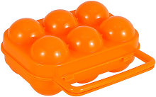 Egg Storage Box with Handle - Portable - 6 Grids -