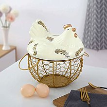 Egg Storages Basket with Handle Reusable Egg