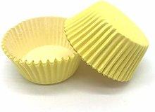 Egg Tart Mould 100pcs Solid Color Cupcake Liner