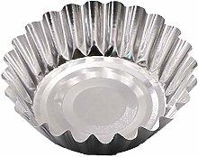 Egg Tart Mould 20 PCS/Set Small Aluminum