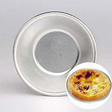 Egg Tart Mould Bake Tool Bakeware, 10 PCS Aluminum