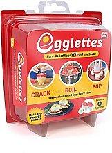 Egglettes - 4 Egg Cups - Egg Cooker Hard & Soft
