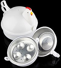 Eggs Boiler Microwave Kitchen Chicken Shaped Home