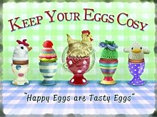 Eggs Classic Breakfast Food Egg Cup Kitchen Home