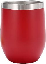 Eggshell Cup Stainless Steel Coffee Cup Red Wine