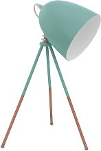 Eglo Carlton Vintage Tripod Table Lamp - Mint