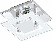 EGLO Ceiling Lighting, Steel, 3 W, Chrome