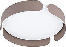 EGLO LED ceiling light Valcasotto, minimalist