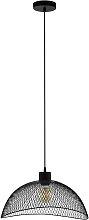 Eglo Pompeya Mesh Pendant Light - Black