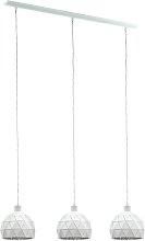 Eglo Roccaforte 3 Light Pendant - White