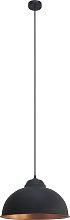 Eglo Truro Pendant Light - Black and Copper.