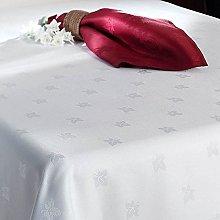 Egyptian 100% Cotton TABLECLOTH Damask Ivy Leaf