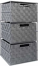 EHC 3 Drawer Large Storage Unit Cabinet for
