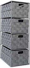 EHC 4-Drawer Storage Cabinet Unit for