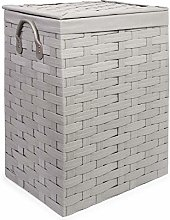 Ehc Large Laundry Linen Basket with Linning Bin
