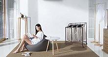 EHC Laundry Basket Laundry Trolley Laundry