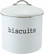 EHC Round Airtight Seal Cookie/Biscuit Storage