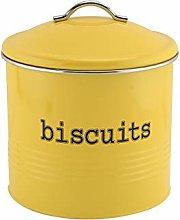 EHC Round Enamel Airtight Seal Cookie/Biscuit