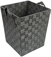 EHC Woven Waste Paper Bin Basket with Hollow