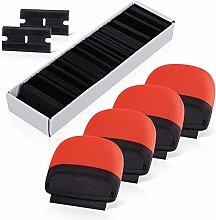 Ehdis 4 Mini Razor Scraper Safety Sticker Remover