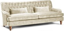 Ehrhardt 3 Seater Chesterfield Sofa Rosalind