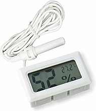 Eidyer Digital Thermometer Hygrometer, Mini Probe