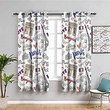 Eiffel Tower Decor Collection Printed Living Room