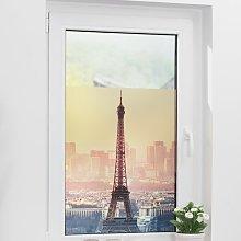Eiffel Tower Window Sticker East Urban Home