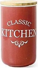 Eight Horses-S 1100ML Ceramic Spice Jar,Sugar Bowl