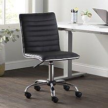 Eileen Desk Chair Wade Logan Colour (Upholstery):